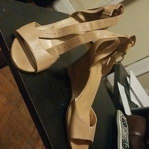 Nine West sandals, worn once